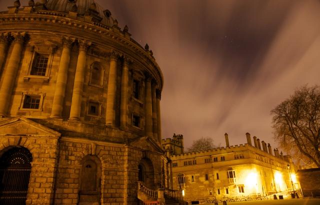 Radcliffe Camera. Et af Oxfords mest kendte varetegn.